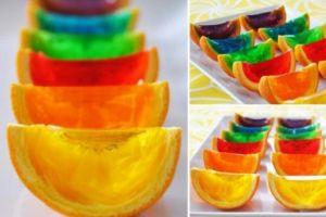 10 Dessert ini dibuat dengan kulit jeruk, pahit nggak ya?