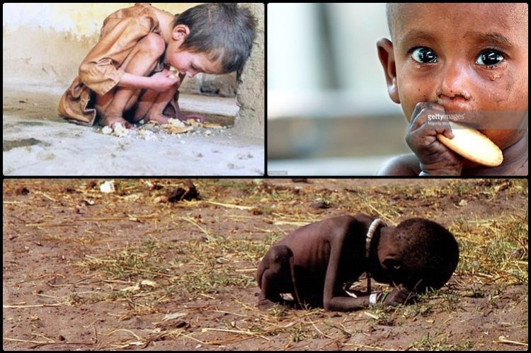 15 Foto anak-anak kelaparan ini akan bikin kamu sulit menahan air mata