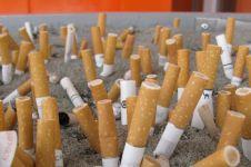 Puntung rokok ternyata bisa didaur ulang jadi plastik loh, keren!
