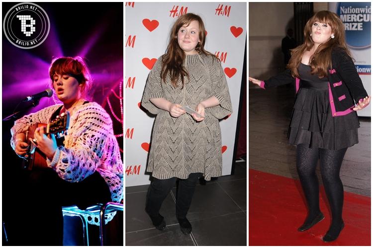 30 Foto transformasi Adele selama 10 tahun, bakal bikin kamu melongo!