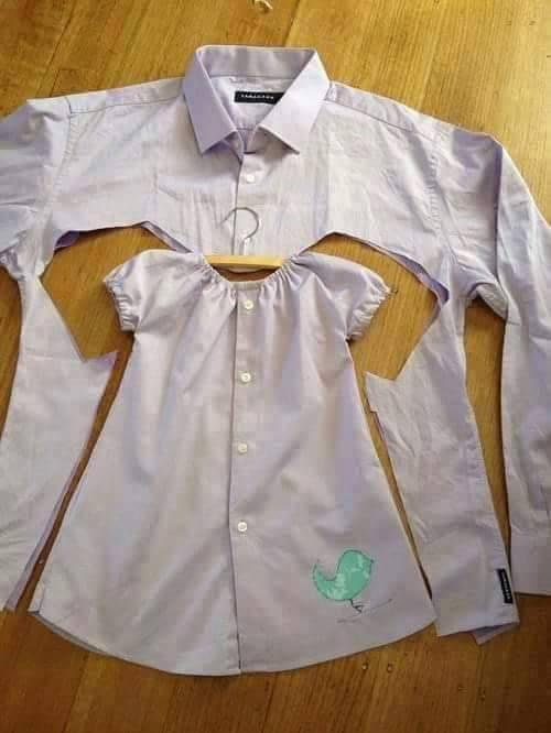 kreasi baju bekas untuk si kecil © 2016 brilio.net