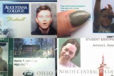 15 Pose foto di kartu pelajar yang gokil abis, kamu berani coba?