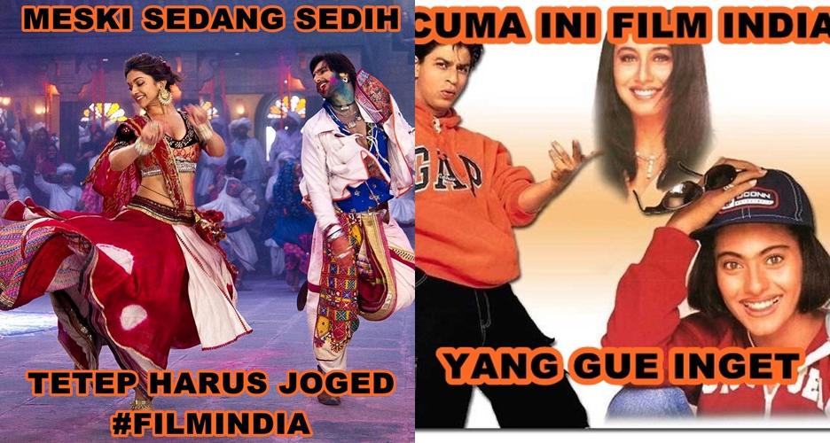 10 Meme film India yang bikin kamu ngakak sekaligus joget aca-aca!