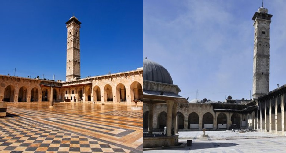Masjid berusia 1.000 tahun ini jadi korban perang saudara di Suriah