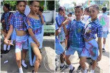 10 Foto anak SMP rayakan selesainya UN ini bikin miris!