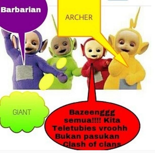 Meme Teletubies Kocak  Brilio Net