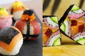 15 Sushi ini beda dari biasanya, dijamin bikin kamu lapar seketika