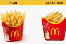 16 Ekspektasi vs realita makanan cepat saji, nggak sesuai sama iklan!
