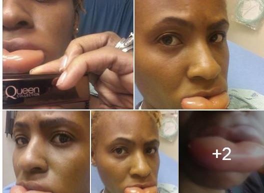 Begini akibatnya kalau coba-coba lipstik sembarangan, duh!