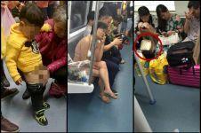 15 Ulah absurd penumpang kereta di China, bikin geleng-geleng kepala!