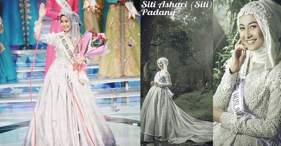 12 Foto jadul Sitti Ashari, Puteri Muslimah 2016, cantiknya aduhai!