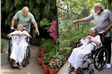 Unggah foto bersama sang ibu, Perdana Menteri India banjir pujian