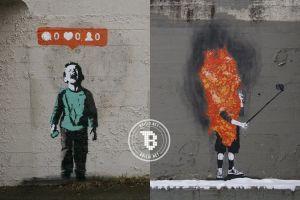 15 Karya grafiti ini tunjukkan mirisnya kehidupan modern, duh!