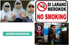 13 Kelakuan bocah merokok ini bikin kamu mengelus dada, duh Dik!