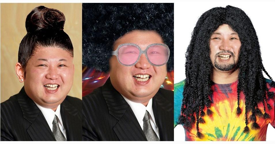 20 Editan foto Kim Jong-Un ini lucu banget, luntur kesan sadisnya