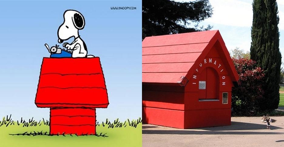 10 Rumah yang terinpirasi dari film kartun, wah mirip nggak ya?