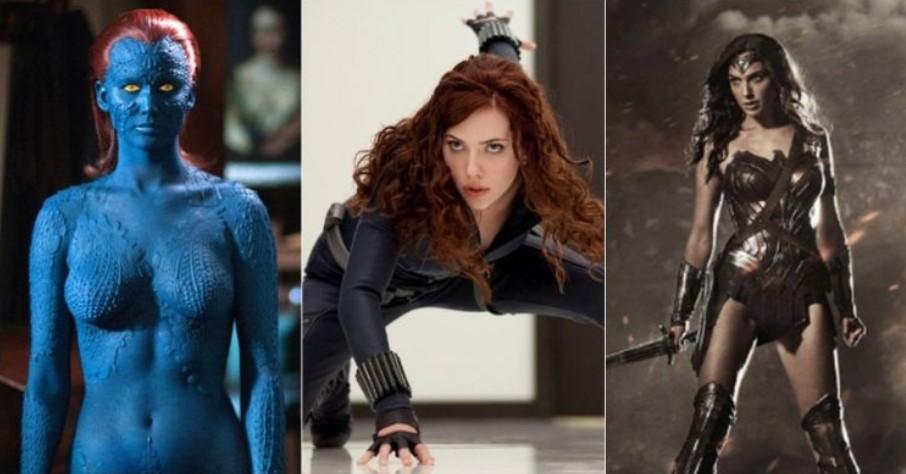 12 Superhero paling seksi di film-film Hollywood, idolamu yang mana?