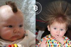 10 Model rambut bayi paling hits, makin ngegemesin deh!