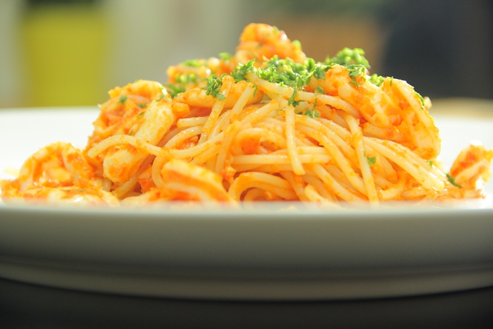 Spaghetti With Squid © 2016 brilio.net
