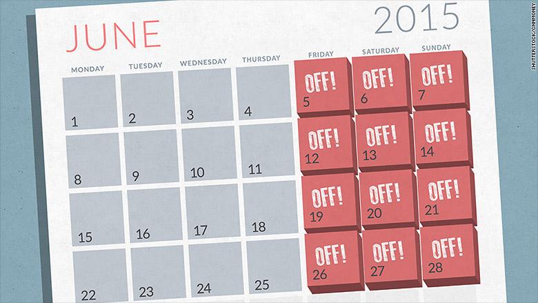 Empat hari kerja dalam seminggu lebih bermanfaat dibandingkan 5 hari
