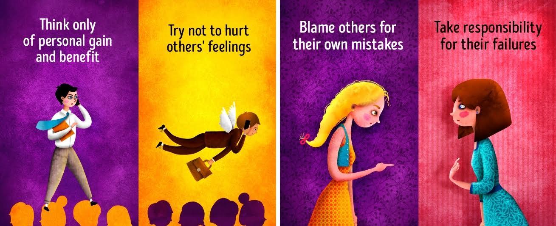 12 Ilustrasi Ini Gambarkan Pribadi Berpikiran Positif Dan Negatif
