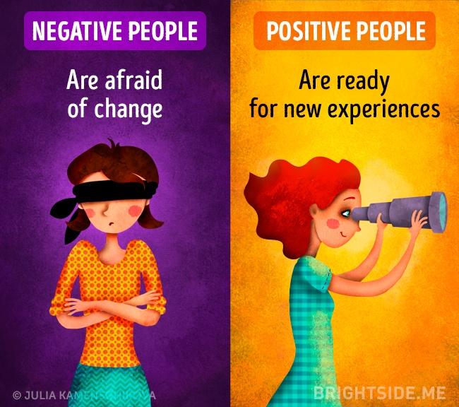 pribadi negatif dan positif © 2016 brilio.net
