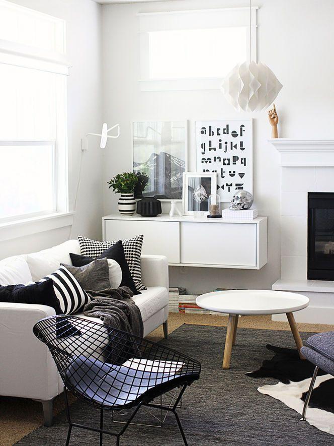 Yuk coba gaya Skandinavia, desain interior rumah yang lagi ...