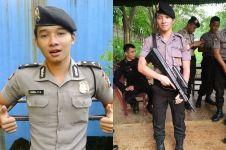 Iqbal  polisi ganteng nan unyu yang mirip bintang Korea, aww!