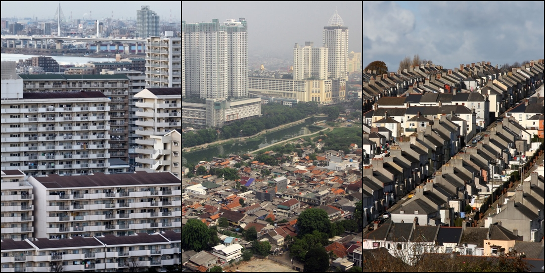 15 Foto kondisi kota di berbagai negara ini bukti bumi semakin padat!