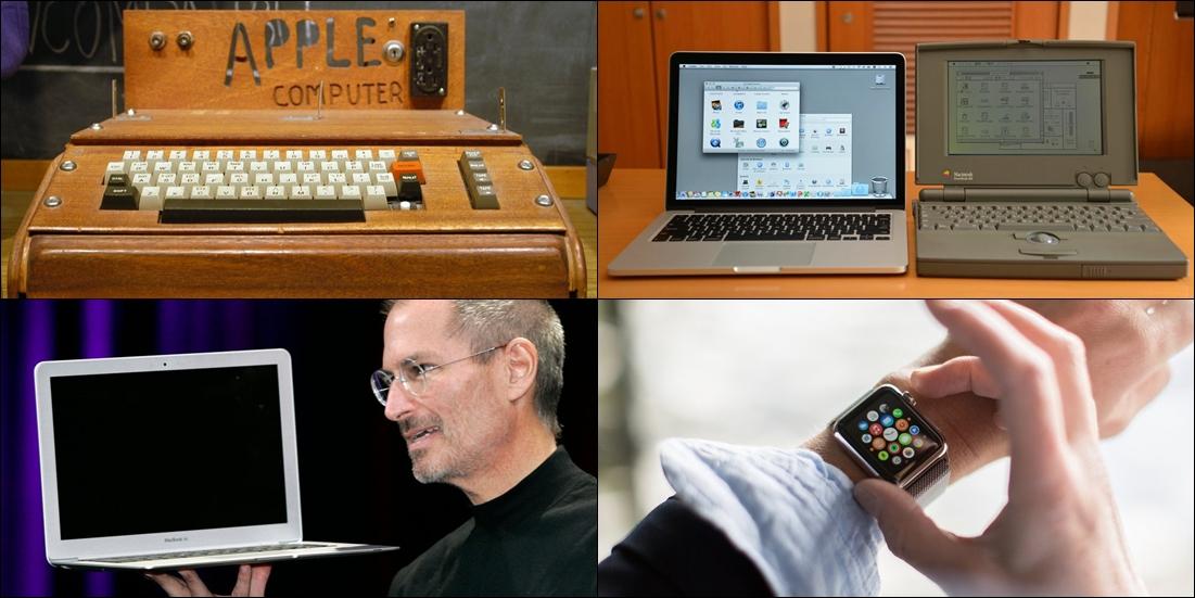 40 tahun eksis, ini transformasi produk Apple, mana paling keren?