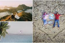 Tak hanya romantis, 15 foto pre-wedding pakai drone ini juga bikin iri