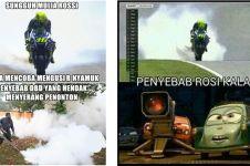 10 Meme gagalnya Rossi di MotoGP Italia ini dijamin bikin ngakak