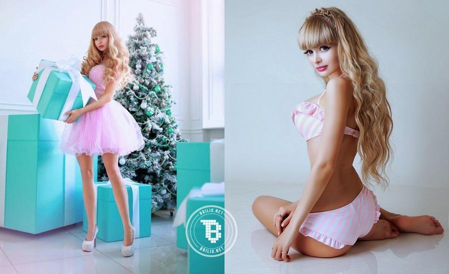 Angelica Kenova, barbie seksi asal Rusia bikin cowok salah fokus!