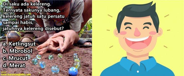 25 Tebak-tebakan bahasa Jawa lucu, tak kalah sulit dari tes Toefl