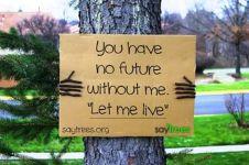 11 Ilustrasi 'andai pohon bisa ngomong', curahan hatinya bikin sedih!