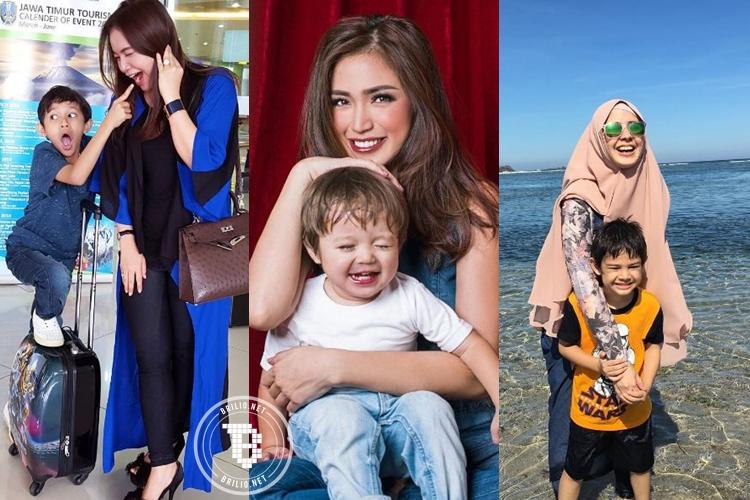 10 Perjuangan artis cantik yang jadi single parents, inspiratif!
