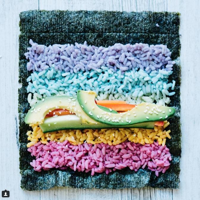 rainbow sushi © 2016 brilio.net
