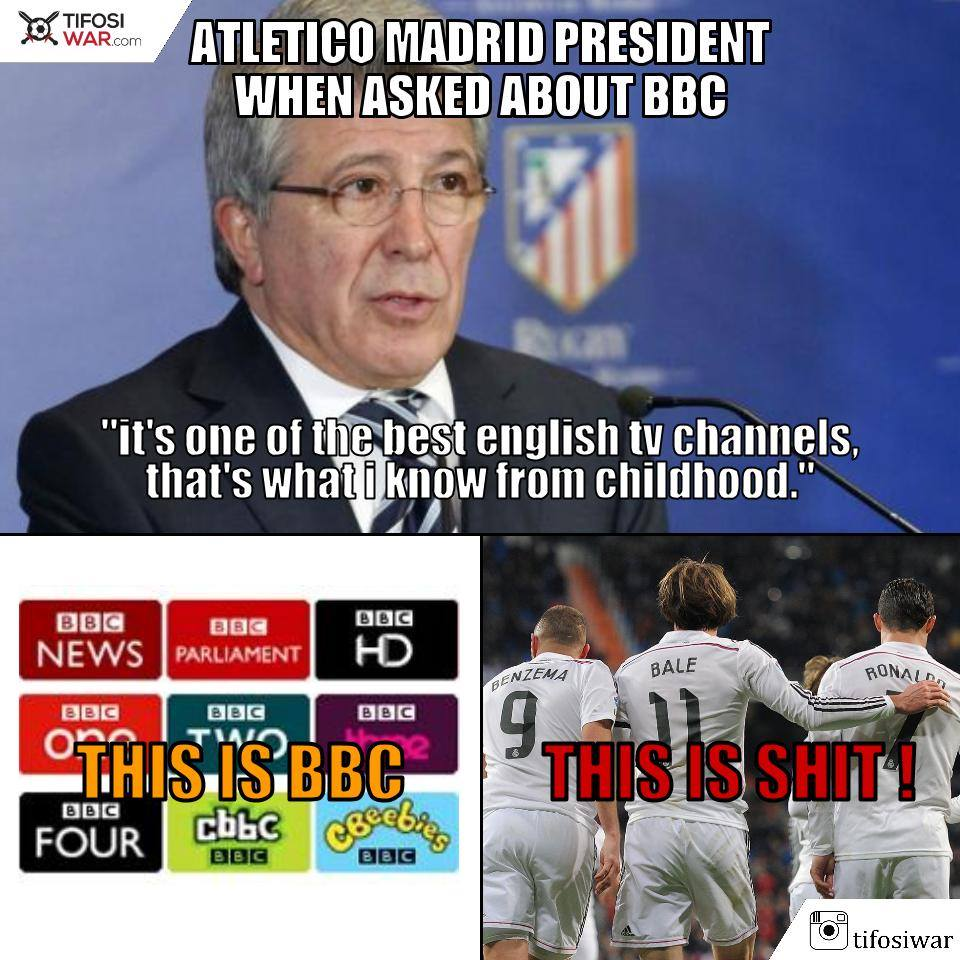 18 Meme lucu final Liga Champions fans Barca mending jangan