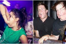 17 Foto kelakuan gila orang saat dugem, bikin ngakak campur miris