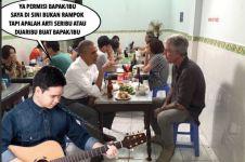 10 Meme Barack Obama makan di warteg ini kocak abis, dijamin ngakak!