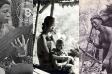 30 Foto langka dan jadul potret kehidupan Suku Dayak di Borneo, keren!