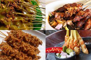 10 Sate paling populer di Indonesia, kamu wajib coba semua ya!