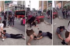 Pria ini diputusin lalu menangis dan memohon di kaki pacarnya, ealah!