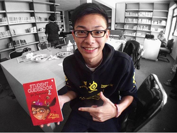 Imutnya Kevin Anggara, YouTuber yang sukses main film berkat Ngenest!