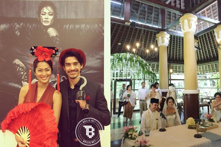 11 Foto bukti Prisia Nasution dan Iedil Putra pasangan yang mesra