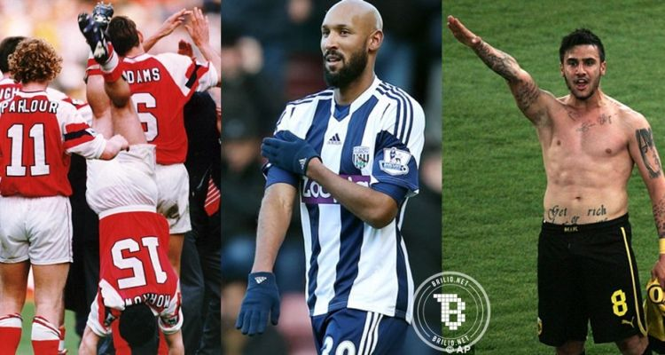 6 Selebrasi pemain sepak bola yang membawa petaka, duh ...