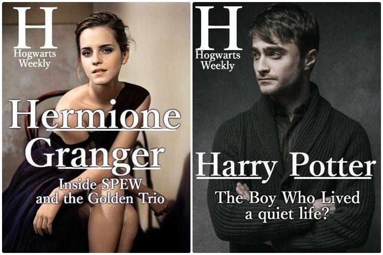 15 Foto ini akan jadi cover andai Hogwarts punya majalah mingguan