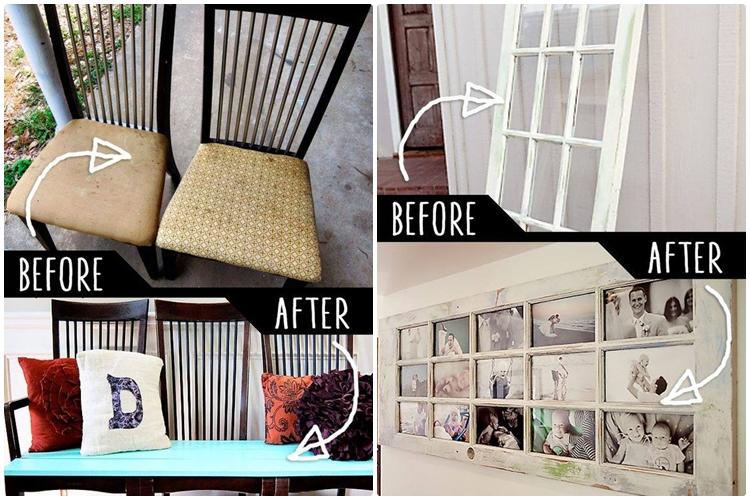 10 Tips manfaatkan perabot kayu bekas menjadi sesuatu yang berguna!