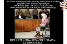 10 Meme sindir ketimpangan hukum di Indonesia, duh miris!