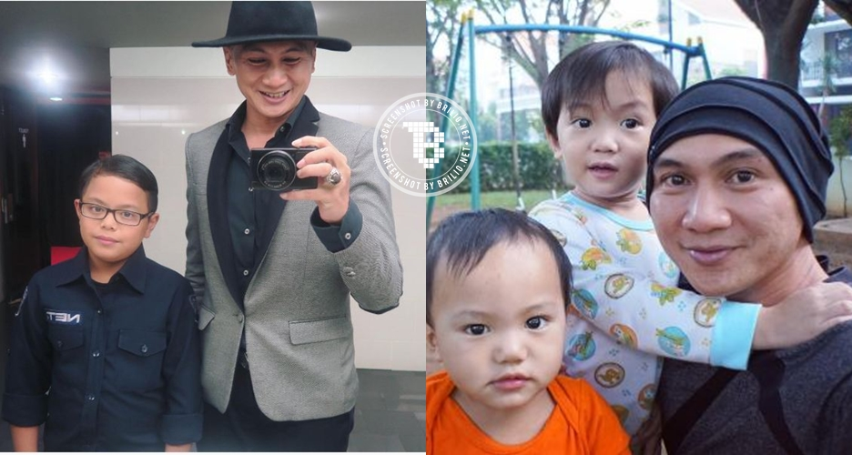 10 Foto ini buktikan Anji layak dijuluki 'hot papa' yang penuh cinta